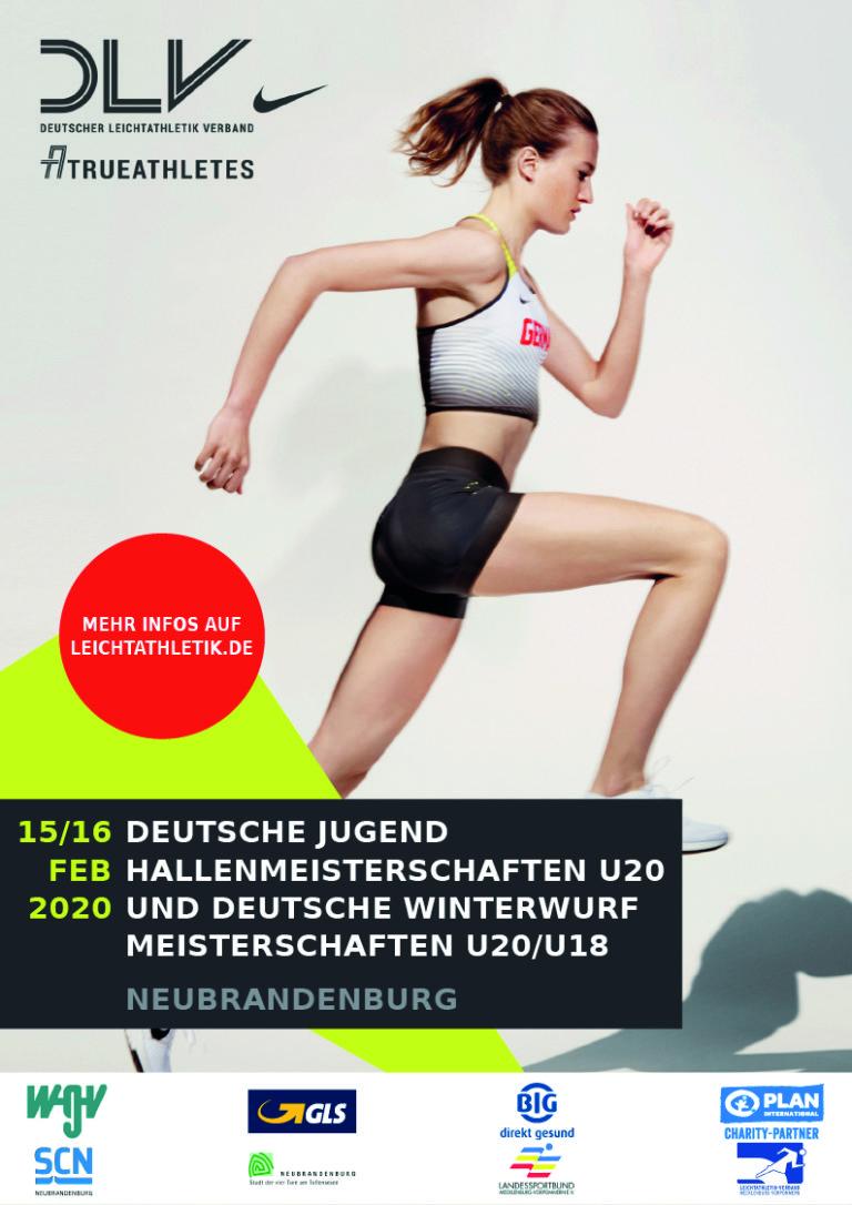 Deutsche Jugend Hallenmeisterschaften U20 und Deutsche Winterwurfmeisterschaften U20/U18