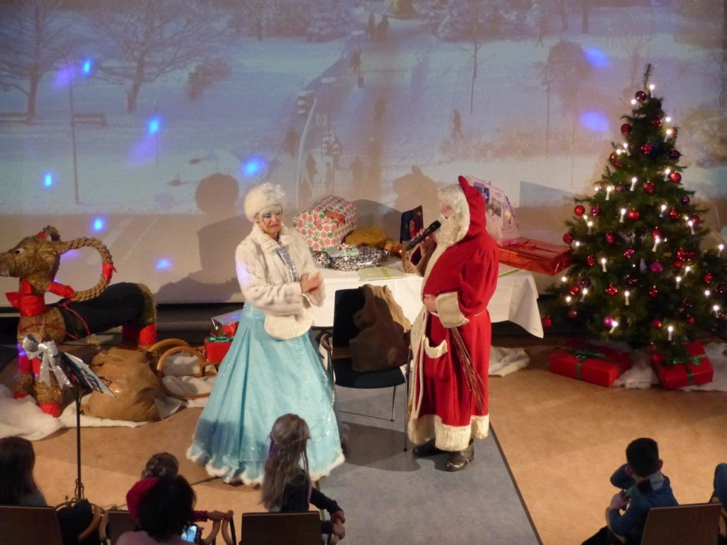 Der Weihnachtsmann kommt…